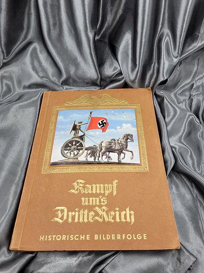 WWII GERMAN CIGARETTE CARD BOOK