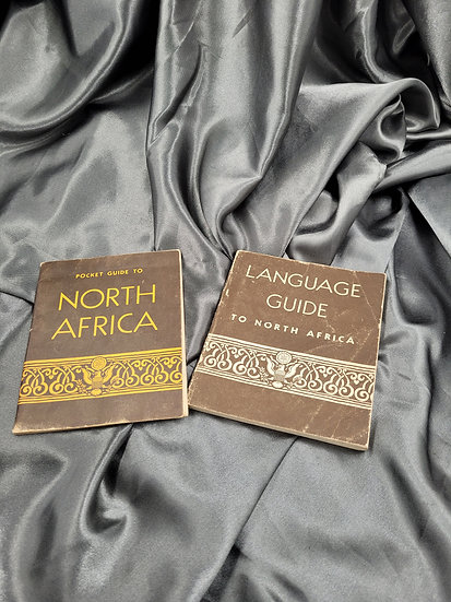 WWII US PHRASE BOOK AND POCKET GUIDE NORTH AFRICA