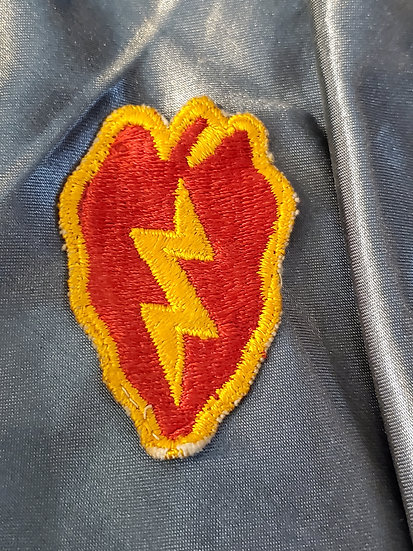 WWII US 25TH INFANTRY DIVISION PATCH