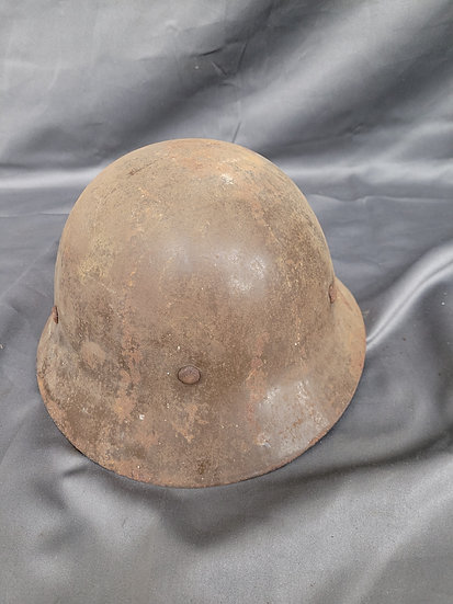 WWII JAPANESE CIVIL DEFENSE HELMET