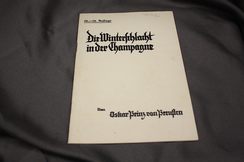 WWI German Booklet