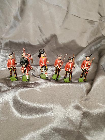 VINTAGE BRITISH TOY SOLDIERS