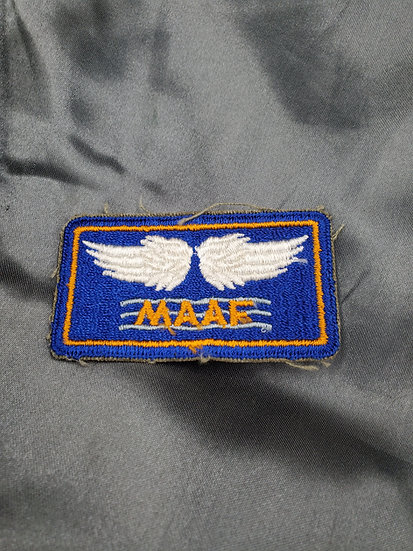 WWII US MAAF PATCH