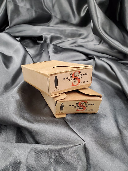 WWII GERMAN 8MM AMMO BOX (EMPTY)