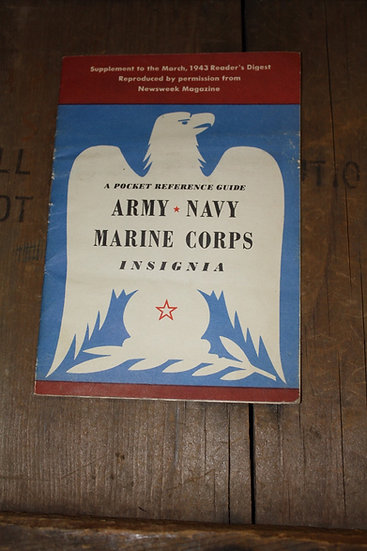 Pocket Reference Guide Army Navy Mar...