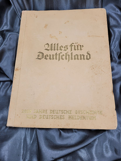 WWII GERMAN CIGARETTE CARD ALBUM