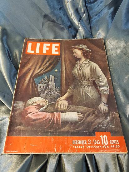 LIFE MAGAZINE DECEMBER 27 1943