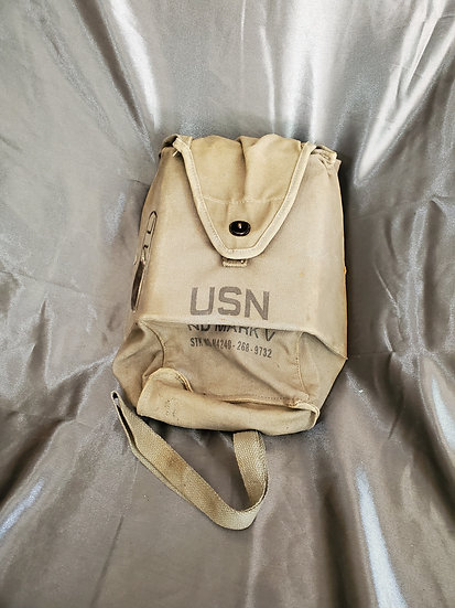 VIETNAM ERA MARK V NAVY GAS MASK BAG