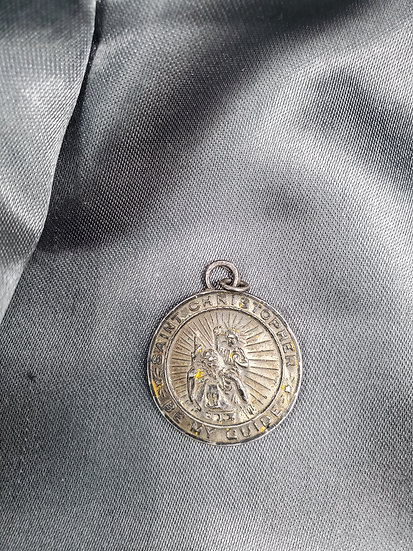 WWII SAINT CHRISTOPHER MEDAL