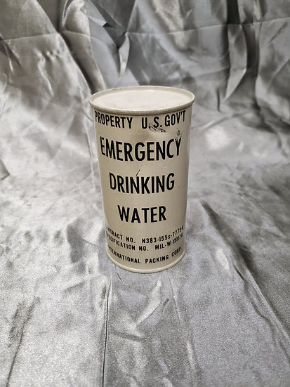 KOREAN WAR EMERGENCY DRINKING WATER