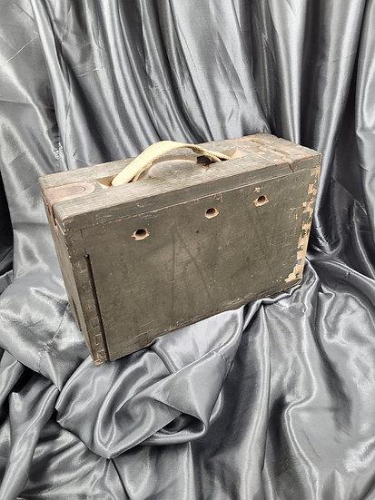 WWI ERA REFURBISHED VICKERS AMMO BOX