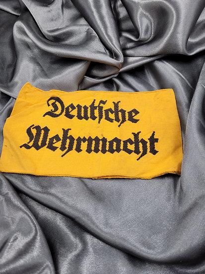 WWII GERMAN MILITARY CIVILIAN WORKER ARMBAND