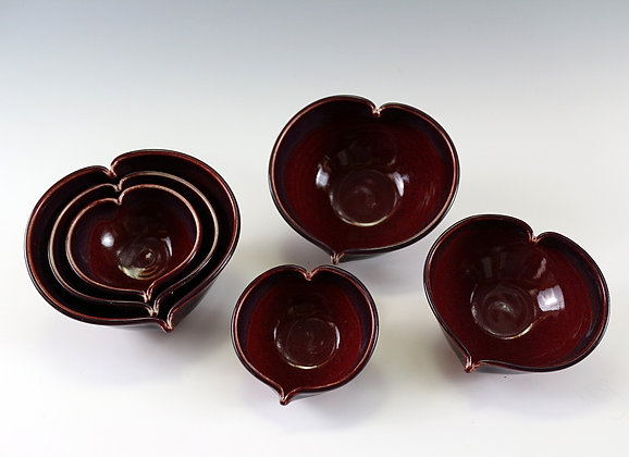 Heart Bowls - Small, Medium and Large