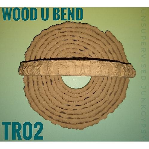 Wood U Bend Applique #TR002
