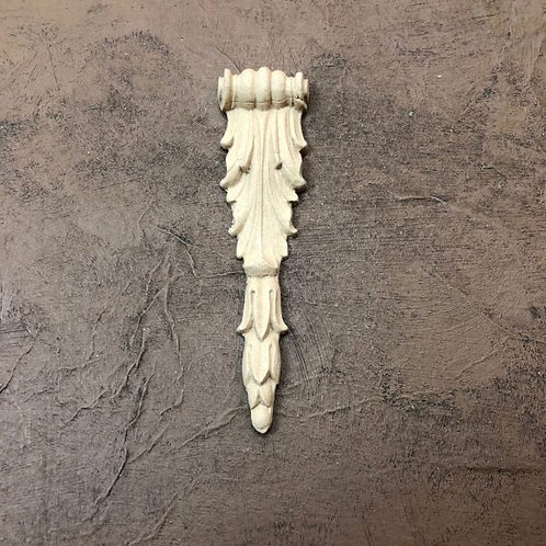 Wood U Bend Applique #1644