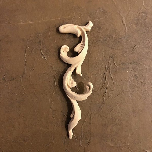 Wood U Bend Applique #366