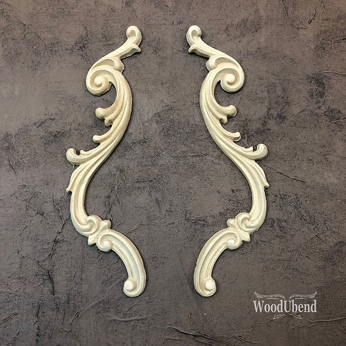 Wood U Bend Applique #1309