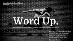 Word Up Poster 2016