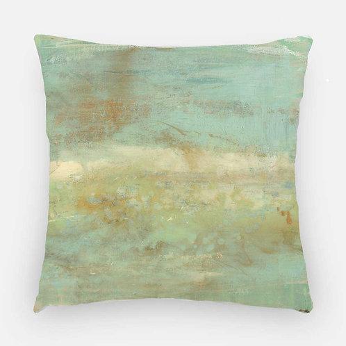 Square Pillow  - Cape Eleuthera Print