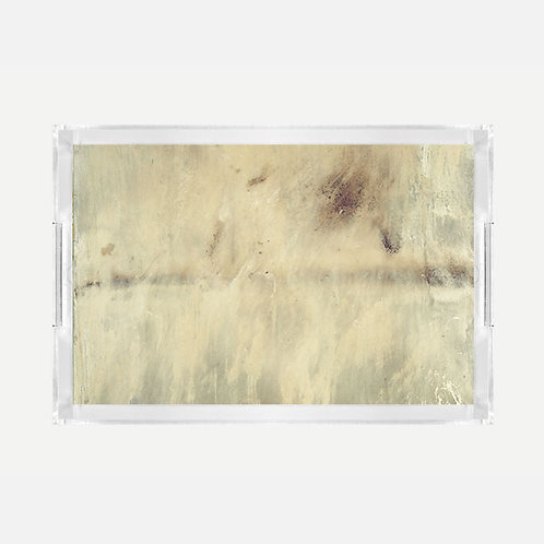 Lucite Tray (Large) - Heaven Print