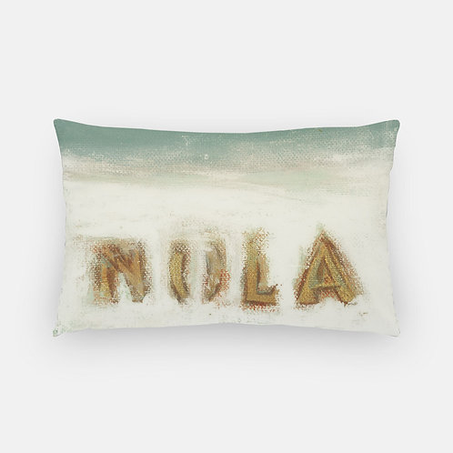 Lumbar Pillow - NOLA Horizon Print