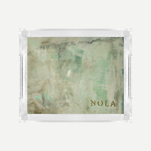 Lucite Tray (Small) - Nola's Last Frost Print