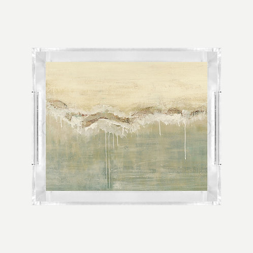 Lucite Tray (Small) - Baths Print