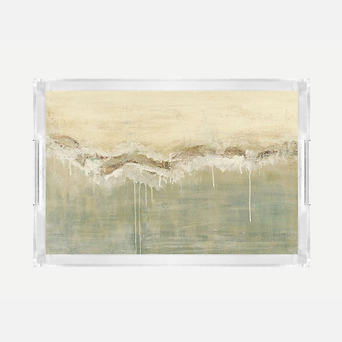 Lucite Tray (Large) - Baths Print