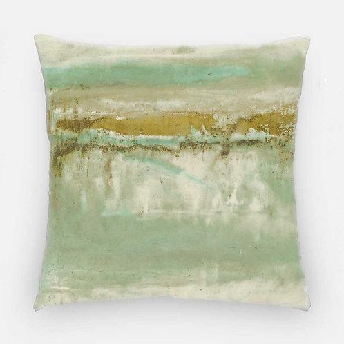 Square Pillow - Eleuthera Sun Print