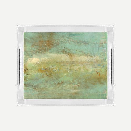 Lucite Tray (Small) - Cape Eleuthera Print