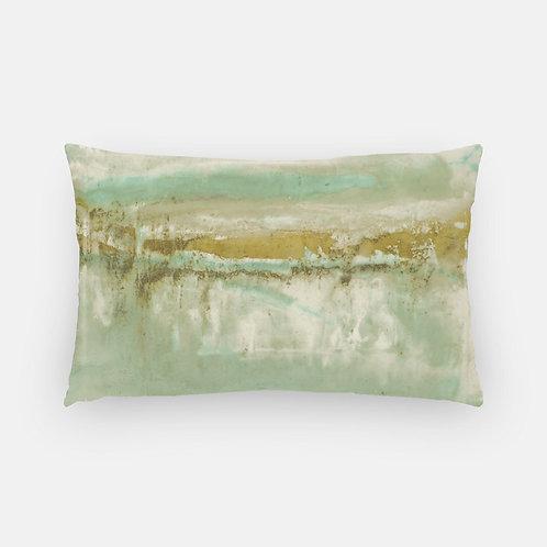 Lumbar Pillow - Eleuthera Sun Print
