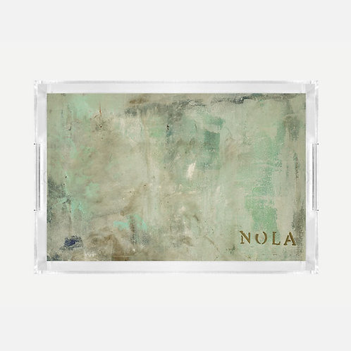 Lucite Tray (Large) - Nola's Last Frost Print