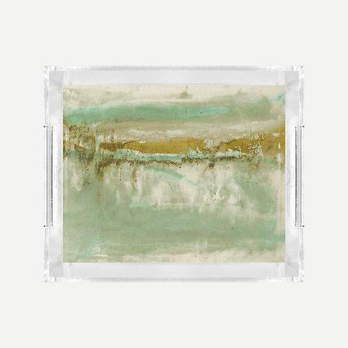 Lucite Tray (Small) - Eleuthera Sun Print
