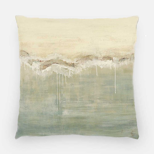 Square Pillow - Baths Print