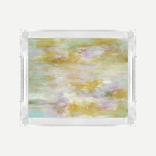 Lucite Tray (Small) - Vivi Print
