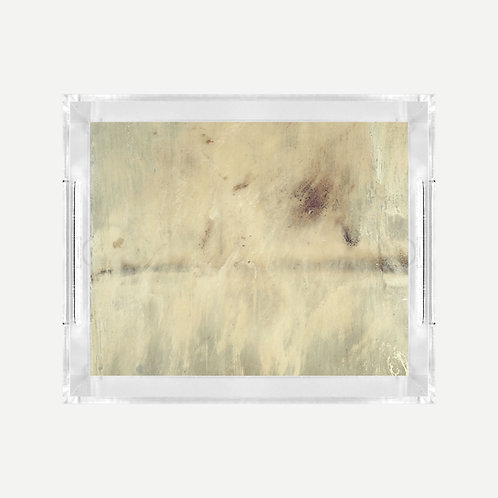 Lucite Tray (Small) - Heaven Print