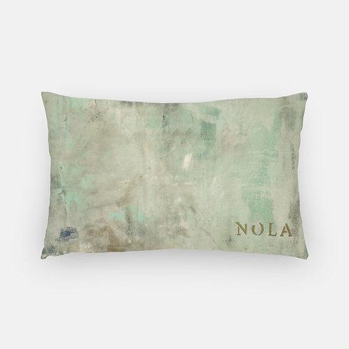 Lumbar Pillow - Nola's Last Frost Print