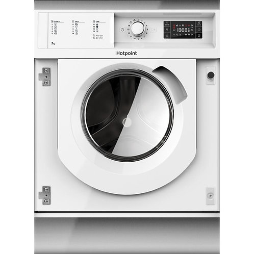 Hotpoint WMHG71483UK Integrated Washing Machine, 7kg Load, 1400rpm, A+++ Energy