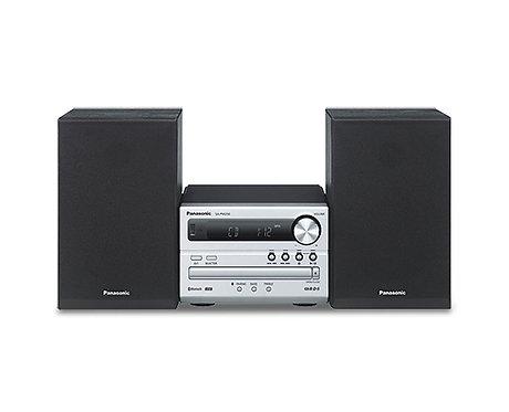 Panasonic SC-PM250BEBS 20 Watt Mini Hi-Fi System with Bluetooth - Silver