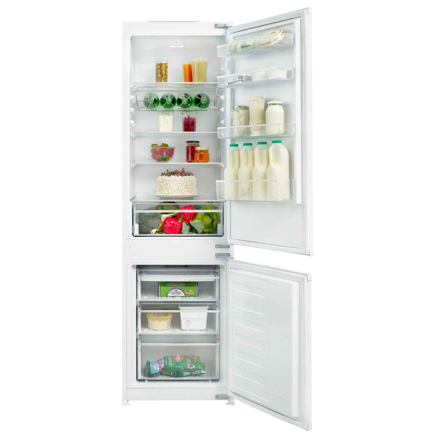 Blomberg Built In Frost Free Fridge Freezer KNM4551I