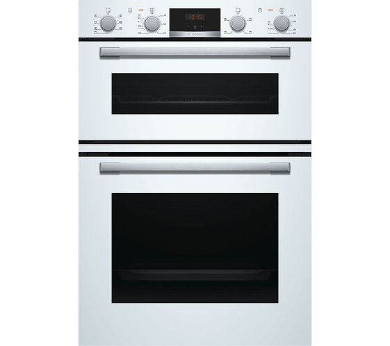 Bosch MBS533BW0B Built In Serie 4 Double Oven - WHITE