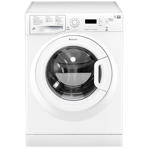 Ex Rental Hotpoint WMBF742 7KG, 1400 Spin Washing Machine
