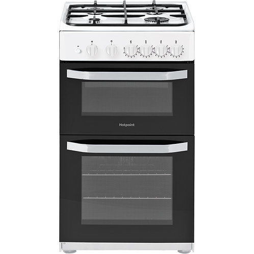 HOTPOINT HD5G00KCW 50 cm Gas Cooker - White