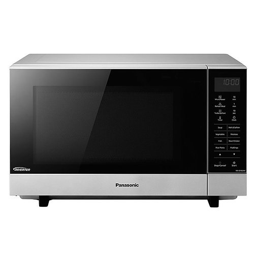 PANASONIC NN-SF464MBPQ Solo Microwave - Stainless steel