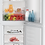 Thumbnail: Zenith ZCS3552W Static Fridge Freezer - White - A+ Energy Rated