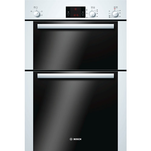 BOSCH HBM13B221B Electric Double Oven - White