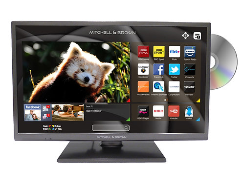 Mitchell & Brown JB321811FSMDVD Smart TV with DVD Built in