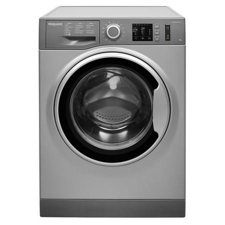 HOTPOINT NM10844GS 8kg 1400rpm Freestanding Washing Machine - Graphite
