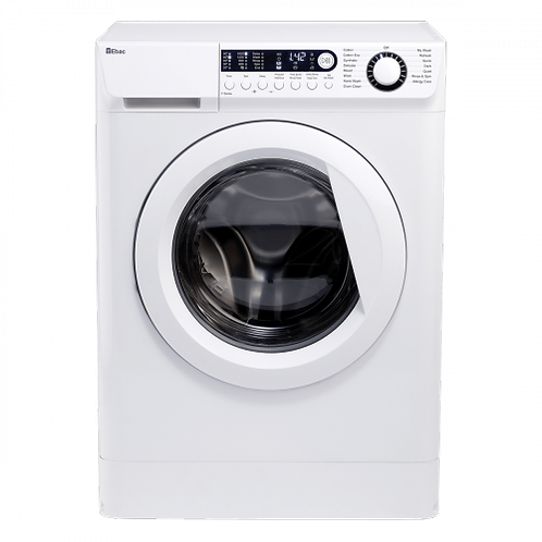 Ebac AWM74D2H-WH, E Care + 7kg,1400 Spin, Dual Fill, Digital Washing Machine