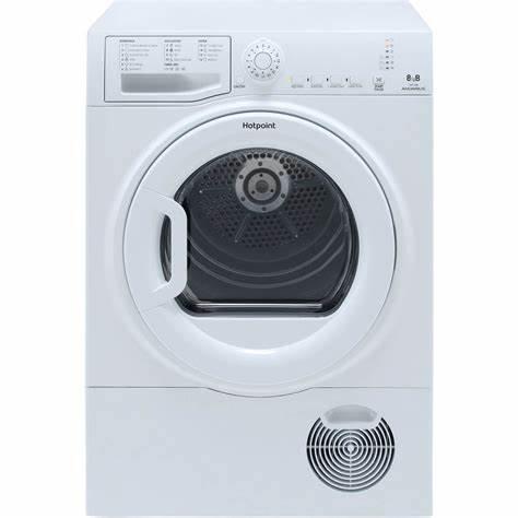 HOTPOINT TCFS83BGP 8kg Freestanding Condenser Tumble Dryer